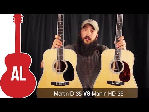 Martin D-35 vs HD-35 - Review and Comparison