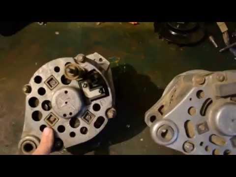Как подсоединить генератор на ваз 2106