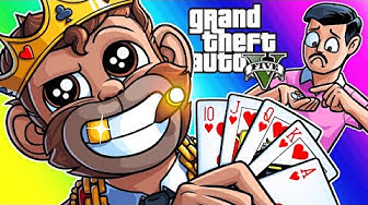 GTA5 Online Funny Moments - Lui's Casino Tour! (Diamond Casino and Resort DLC)