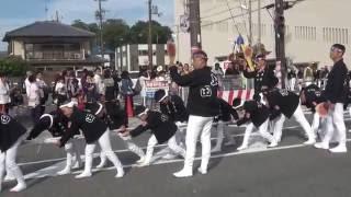 2016年 河内長野だんじり・三日市地区① 4町パレード