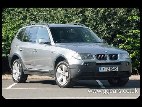 2005 05 BMW X3 2 0d Sport Full Video
