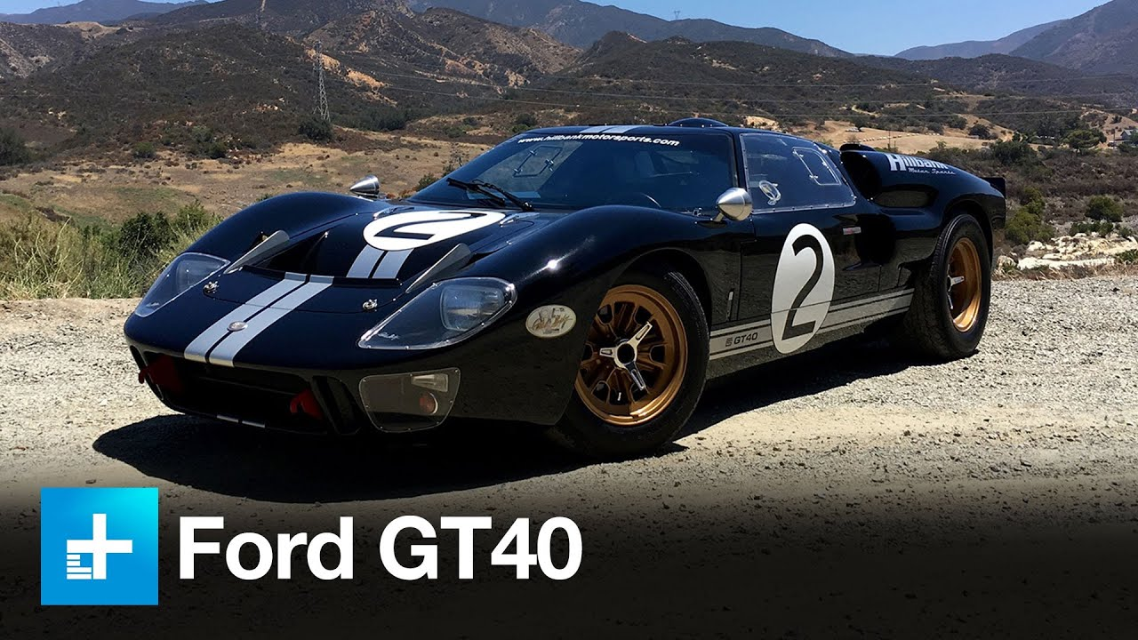 Take A Ride With Us In The Ford Gt Mk Ii