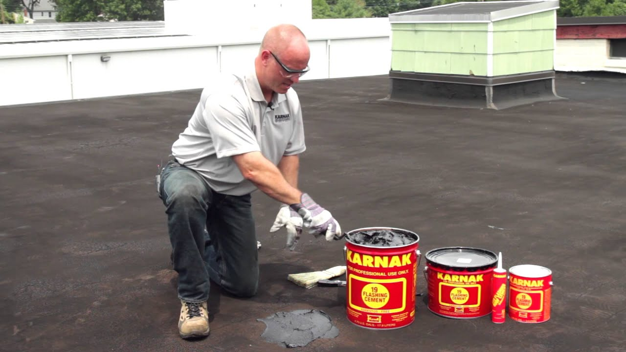 Roofing Leak Repair how to repair leaks permanently on flat roofs karnak 19
