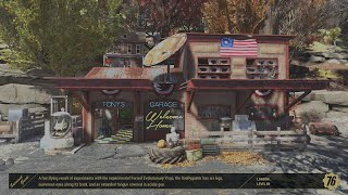 Fallout 76 CAMP: Wilson's Garage
