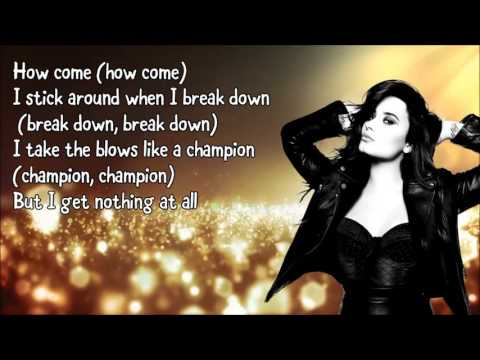 Demi Lovato - For You (Lyrics)