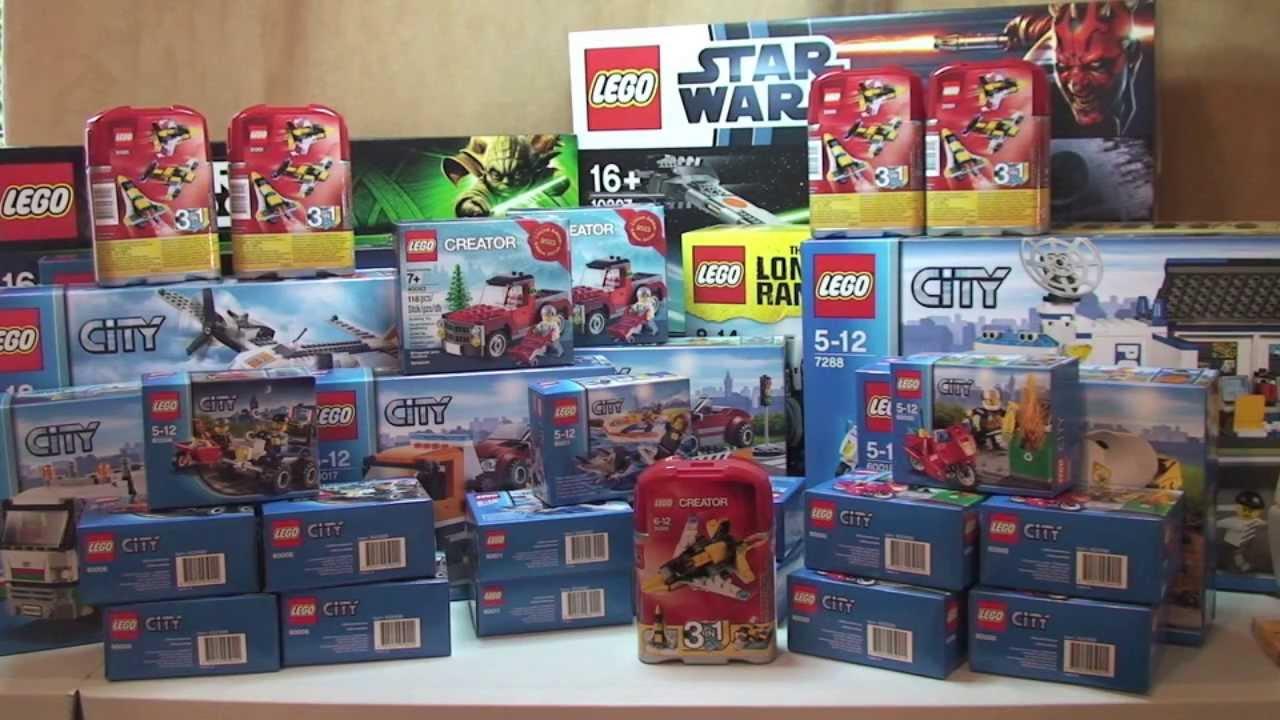Lego haul week ending 1st december 2013 youtube for Lago store outlet