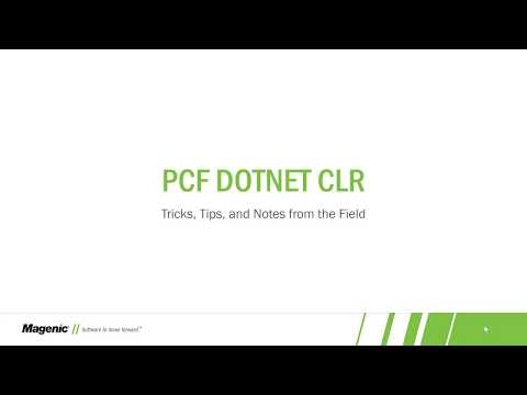 .NET CLR apps on PCF
