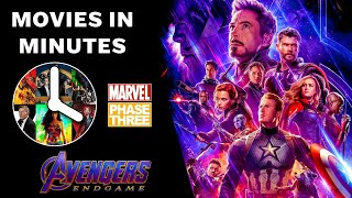 AVENGERS: ENDGAME in 4 minutes (Movie Recap)