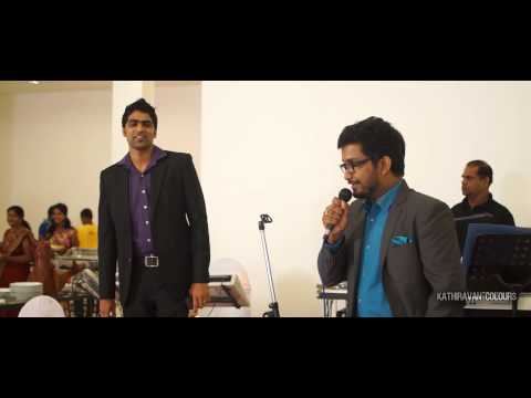 chandru & Menaka reception highlights