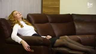 Прекрасный итальянский кожаный диван Natuzzi Editions(, 2015-02-24T13:48:32.000Z)