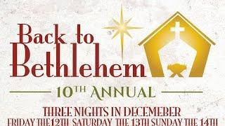 Back to Bethlehem 2014