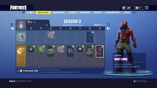 Official Fortnite Battle Royal, Season 3 Battle Pass - Asurahh