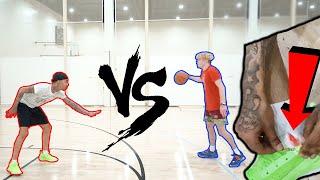 I Made FlightReact's Ankle Bleed... 1v1 Basketball!