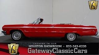 1964 Chevrolet Impala Gateway Classic Cars #942 Houston Showroom