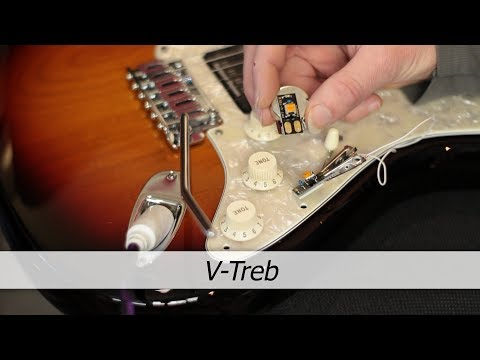 Best Treble Bleed option for any guitar : V-TREB Variable Treble Bleed circuit