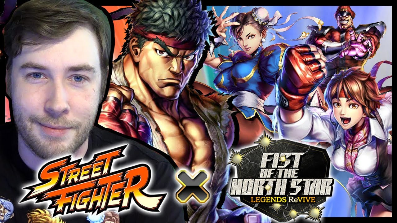 STREET FIGHTER x Fist of the North Star LEGENDS ReVIVE Collab