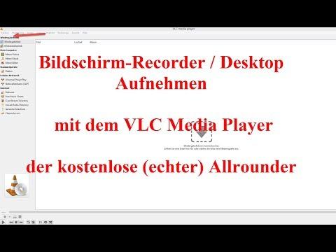 Desktop Mit Ton Und Video Aufnehmen: Gratis-Bildschirmrecorder |  VLC