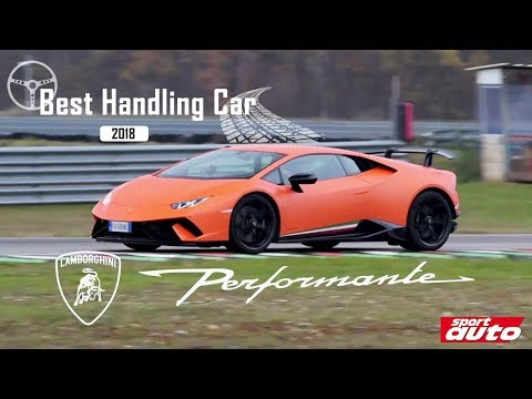 Der Handling-King: Lamborghini Huracán Performante | BEST HANDLING CAR 2018 | sport auto
