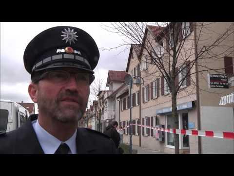 Schießerei in der Innenstadt in Heidenheim an der Brenz vermutlich eine Tat im Rocker-Milieu - SWR