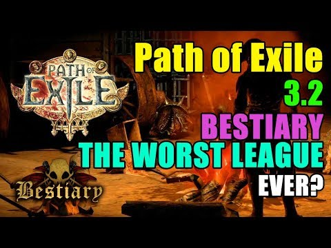 Bestiary League – PATH OF EXILE BUILDS / LAST EPOCH BUILDS