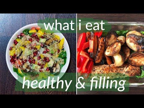 Superfood Porridge, Plant-Based Salads & Dairy-Free Hot Chocolate | What I Eat #51