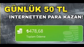 1 GUNDE 50 TL KAZANDIRAN SITE - INTERNETTEN PARA KAZAN