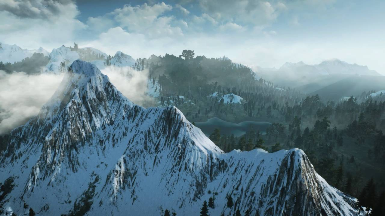 the witcher 3 - skellige highlands  landscape montage fanvideo