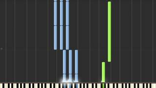 Bruno Mars - When I Was Your Man (Synthesia)