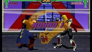 Fighting Vipers (Sega Saturn) Arcade as Bahn