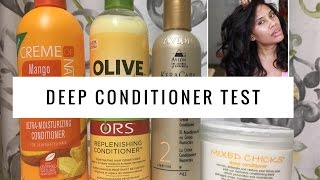 Best Detangling Deep Conditioner [TEST]