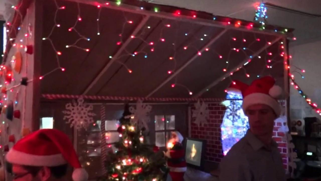 Mejor decoracion navidad oficina youtube - Decoracion de navidad para oficina ...