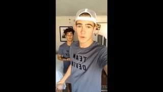 Chance Perez & Devin Hayes Instagram Live (07.31.17) ABC Boy Band