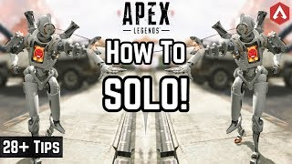 28+ Pro Tips Advanced 'HOW TO SOLO' Guide! Apex Legends Iron Crown Event