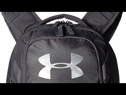 3ae0a3c87ad7 Under armour hustle 3.0 graphite backpack - YouTube