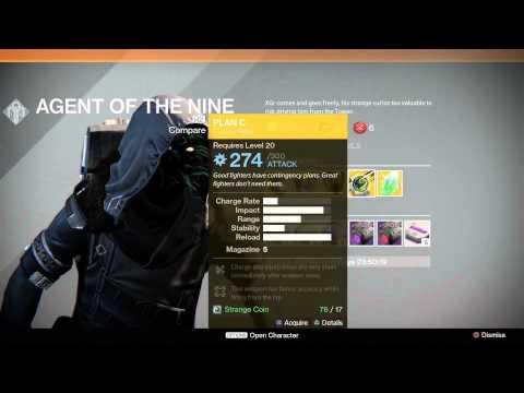 Destiny Exotic Merchant Xur Location 5 DEC to 6 DEC