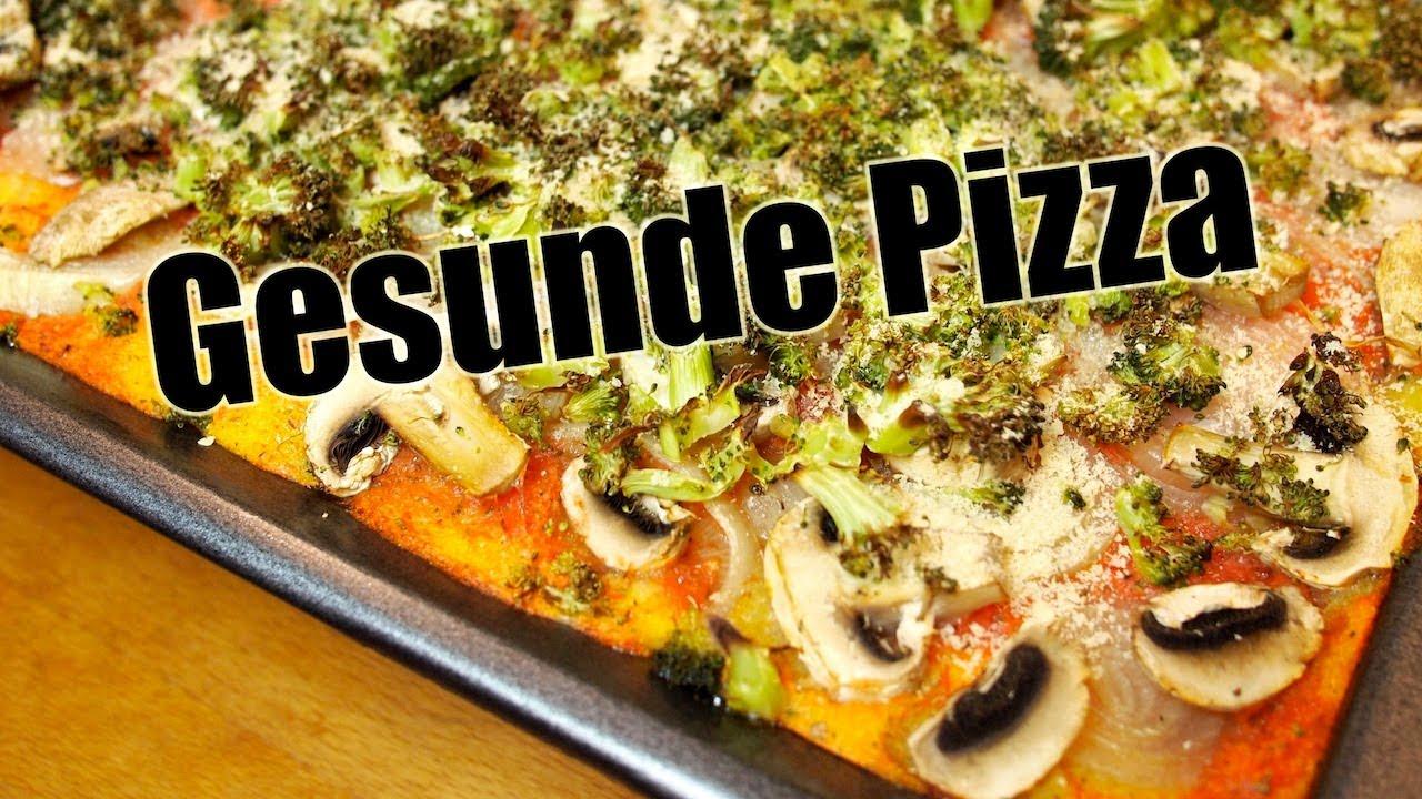 gesunde pizza glutenfrei low fat salzfrei vegan rezept vegan youtube. Black Bedroom Furniture Sets. Home Design Ideas