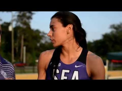 Demi Payne of Stephen F. Austin Improves Her Collegiate Pole Vault Record