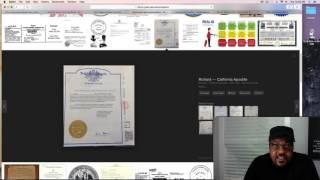 BC authentication, sample affidavit.
