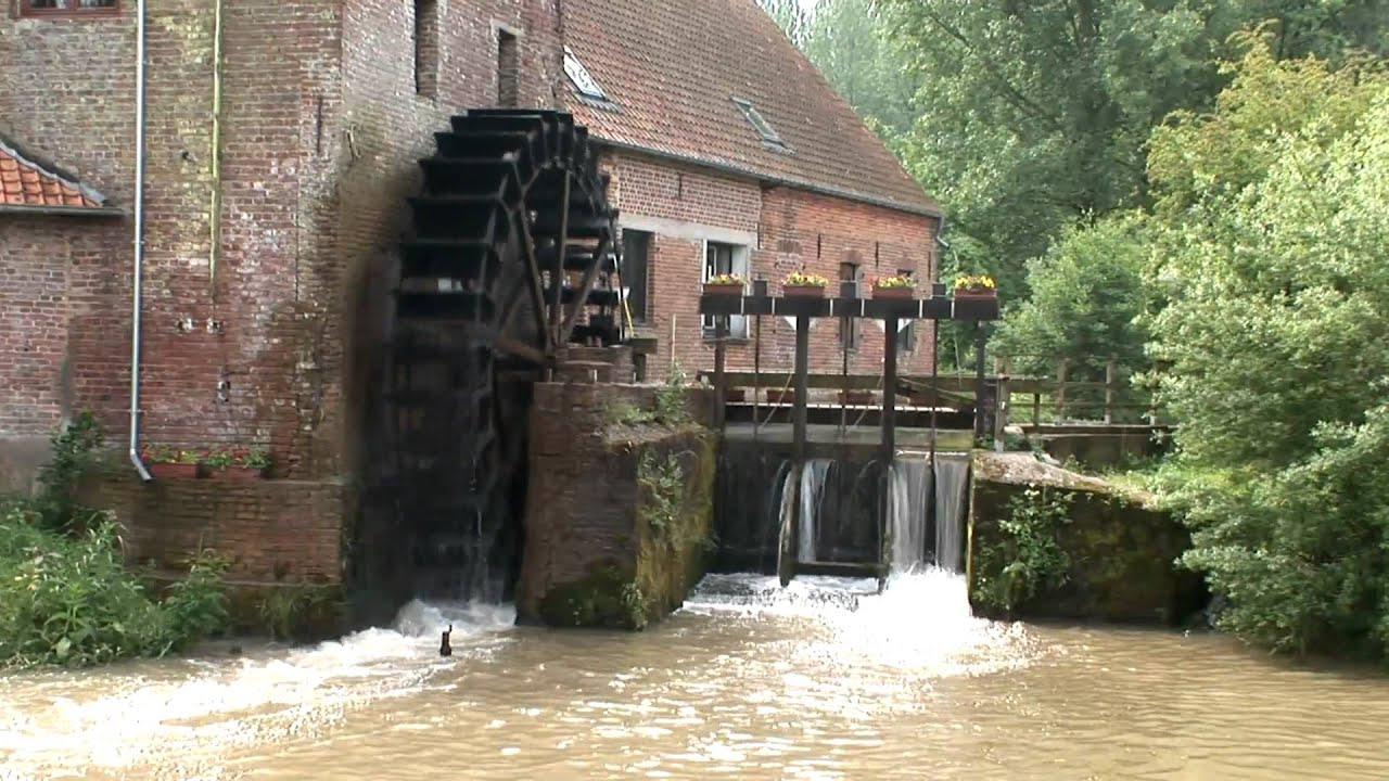 Populaire MOULIN HYDRAULIQUE DE LUGY en HD - YouTube OY59