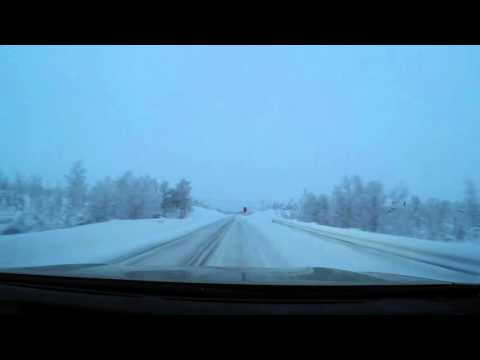 Drivelapse Tallinn - Nordkapp - Tallinn in winter