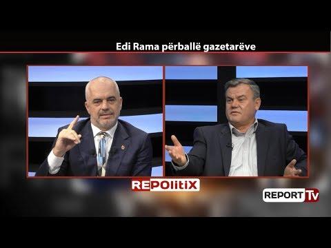 Report TV - 'Merri Një Numër Gruevskit', Rama-Lesit: Mos Fol Në Emër Të Presidentit