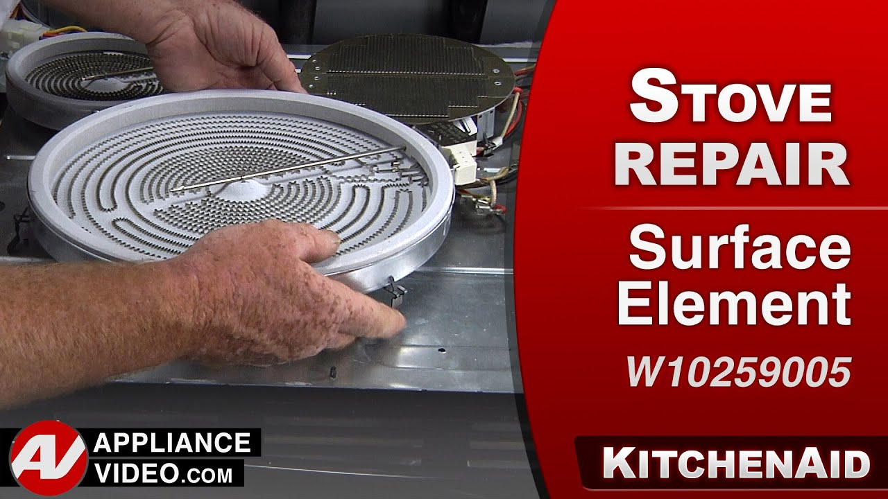 Kitchenaid Heating Element kitchenaid, whirlpool oven - surface element repair - youtube