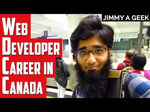 Career Questions -  Is Web Developer Career Good in Canada ?