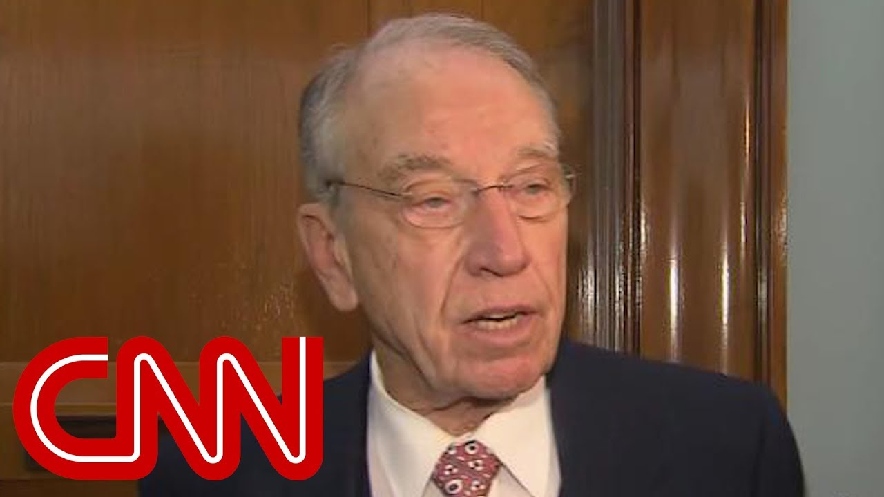 Sen. Grassley says he expects Mueller report 'within a month'