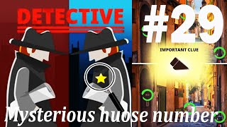 Find The Differences - The Detective Answers: Mysterious House Number Level 1- 10