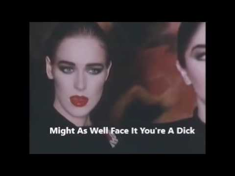 Robert Palmer Might As Well Face It You're A Dick Parody Comedy Insult Fan Video