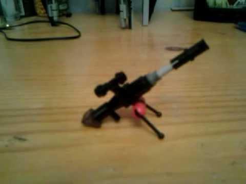 как сделать лего оружие 1