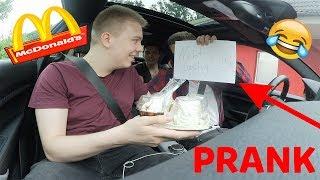 McDonalds PRANK | BESTELLUNG BUCHSTABIEREN |  EIS GESCHENKT BEKOMMEN