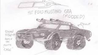 my Twisted Metal drawings