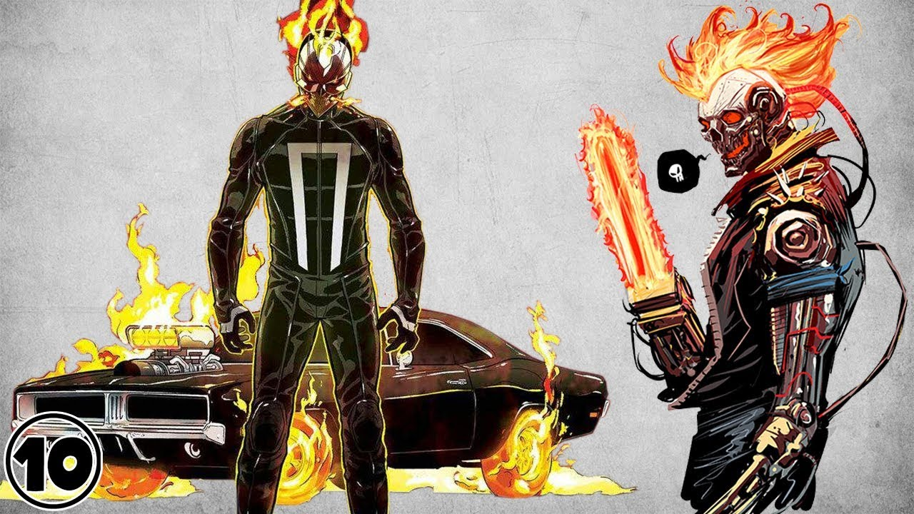 Top 10 Alternate Versions Of Ghost Rider